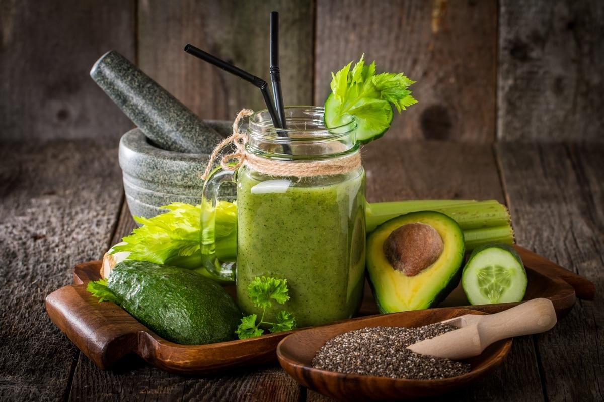 Groene smoothie avocado gezond?